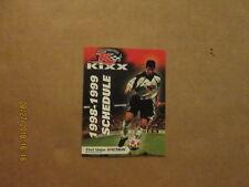 NPSL II Philadelphia Kixx Vintage Defunct Circa 1998-1999 Soccer Pocket Schedule