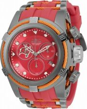 Invicta 52mm Bolt Zeus NFL OFFICIAL TEMPA BAY BUCCANEERS Chrono Silicone Watch
