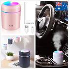 USB Car Air Purifier Diffuser Aroma Oil Humidifier Mist Led Night Light Home AU