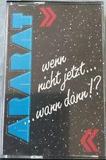 MC Ararat - wenn nicht jetzt...wann dann!? (1989) Rarität Eigenverlag Mit Texten