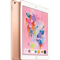 """Apple 9.7"""" iPad 6th Gen 32GB Gold Wi-Fi MRJ2LL/A 2018 Model"""