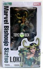 "In STOCK Kotobukiya Marvel Comics ""Female Loki"" (Thor) Bishoujo PVC Statue"