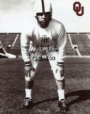 J.D. Roberts Signed 8x10 Lot of (2) Auto Autograph Oklahoma Sooners Hall of Fame