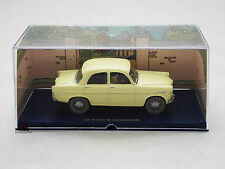 Miniature En voiture Tintin Bijoux Castafiore Alfa Romeo Giulietta Moulinsart