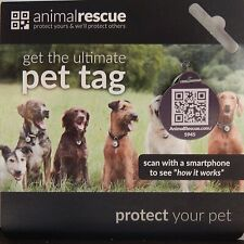 GPS QR Code Pet ID Tag for Dogs & Cats GPS/QR Enabled
