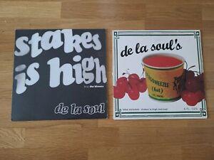 "De La Soul Stakes Is High 12"" Single OG Press Vinyl Remix J Dilla Itzsoweezee"
