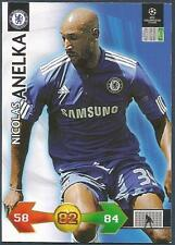 PANINI UEFA CHAMPIONS LEAGUE 2009-10 TRADING CARD-CHELSEA-NICOLAS ANELKA