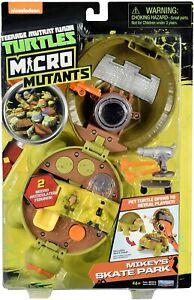 Teenage Mutant Ninja Turtles Micro Mutants Mikey's Dojo TMNT Converts > Play Set