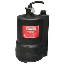 Utilitech 0.33-Hp Thermoplastic Submersible Utility Pump Pu33