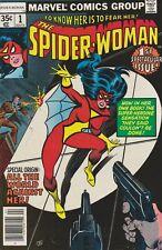 Spider-Woman #1. Apr 1978. Marvel. FN/VF.