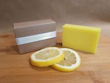 Nanny Goat's Scrub Handmade Goats Milk Soaps - Lemon Bar with Essential Oils