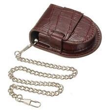 Case Case Chain Pocket Watch Pocket Watch Pouch Leather Watches Storage Bag