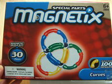 MAGNETIX 30 complete Box set curves magnet GEOMAG mathematical shapes chemical