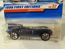 Hot Wheels Jaguar D-Type 1998 First Editions Blue 5 sp