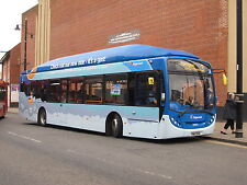 3091. Sunderland. UK. Buses. May 2015. Not the most pleasant places but lots of