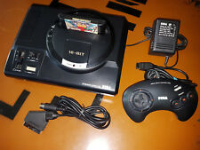 ## SEGA Mega Drive 1 Konsole mit 50/60Hz Schalter - anschlussfertig - TOP ##
