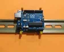 Arduino Uno DIN rail mount bracket, One Pair, Made in USA
