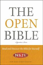 NKJV The Open Bible