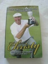 Signed! Christy O'Connor Christy From Rough To Fair Ways Hcdj 1st Golf Legend