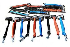 Dog Leads and Collars - Choice of Colours and Sizes
