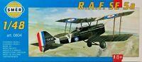 SMER Royal Aircraft Factory SE 5a, WW I,Doppeldecker, Bausatz 1:48,0804,OVP,NEU