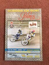 10/10/1999 Zielorna Gora vs KS Apator Torun Speedway Programme