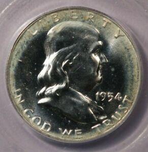 1954-P 1954 Franklin Half Dollar ICG PR65