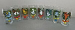 12 Days of Christmas Collectible Tumblers Glasses Individual Replacements/Set