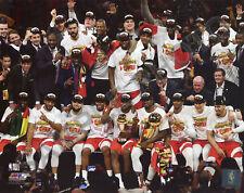 Toronto Raptors Celebrate 2019 NBA Championship Finals 8x10 Authentic Photo