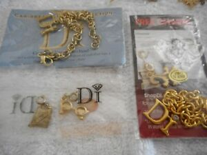 CHARMS LOT DI Diamonds International Collectibles - 2 Bracelets Lizard Glasses