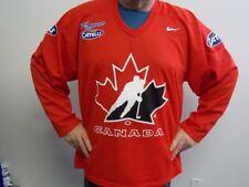 "Salt Lake City 2002 Olympics Nike/Catelli ""Feed the Dream"" Team Canada Jersey"