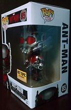Funko Pop Marvel Comics Glow In The Dark Ant-Man - Exclusive - Unopened