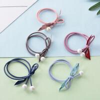 1 pcs Women Girl Elastic Rubber Hair Ties Band Rope Ponytail Holder Fashion 2pcs