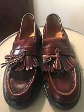 Doc Martens brown antique rub off loafers made in England,sizes UK3(EU36)& 4(37)