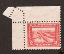 US Sc 402 MNH. 1915 2c Panama Expo, Perf 10, FOLDOVER ERROR