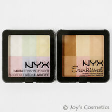 "2 NYX Radiant Finishing Powder Blush  ""RFP 01 & RFP 02 ""   *Joy's cosmetics*"