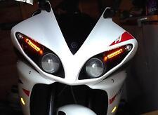 Yamaha R1 14B Big Bang 2009 2010 2011 2012 indicadores LED Empotrada