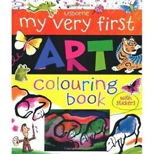 Usborne My Very First Art Colouring Book by Rosie Dickins (Paperback)