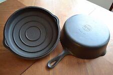 Vintage #8 Griswold 777 Chicken Pan Fryer DEEP SKILLET w/ Lid 1098 C Cast Iron