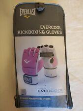 Everlast Evercool KickBoxing Gloves Model 4403P Level 2 Pink White Ladies Mma