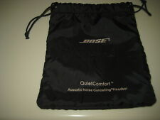 BOSE Black DRAWSTRING Pouch Case for QuietComfort Headphones BAG ONLY