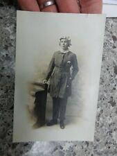 More details for  postcard    portrait edwardian  hull  war worker munitions ?  1917