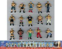 Raro Set Completo 15 Mini Figuras Lucha Luchador Originales Nuevo DOLCI PREZIOSI