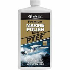 Starbrite Boat Premium Marine Polish with PTEF Liquid Fiberglass Quart 85732