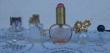 Lot Of 5 Collectible Perfume Bottles Bonne Bell Xia Xiane Celine Dion Aramis