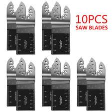 10pc Bi-metal Oscillating Multi Tool Saw Blades Cutter Metal Set For Fein Makita