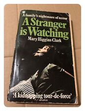 A Stranger is Watching by Mary Higgins Clark (Paperback, 1979)