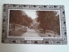 G74 Nostalgic RPPC The New Walk, Jesmond Dene Rapid Photo Printing Franked 1909