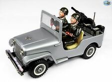Awesome 1950 Jeep Willys Army Radio Operator Car w/ Soldiers