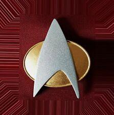 Star Trek The Next Generation TNG Uniform Communicator Pin Combadge Com Badge